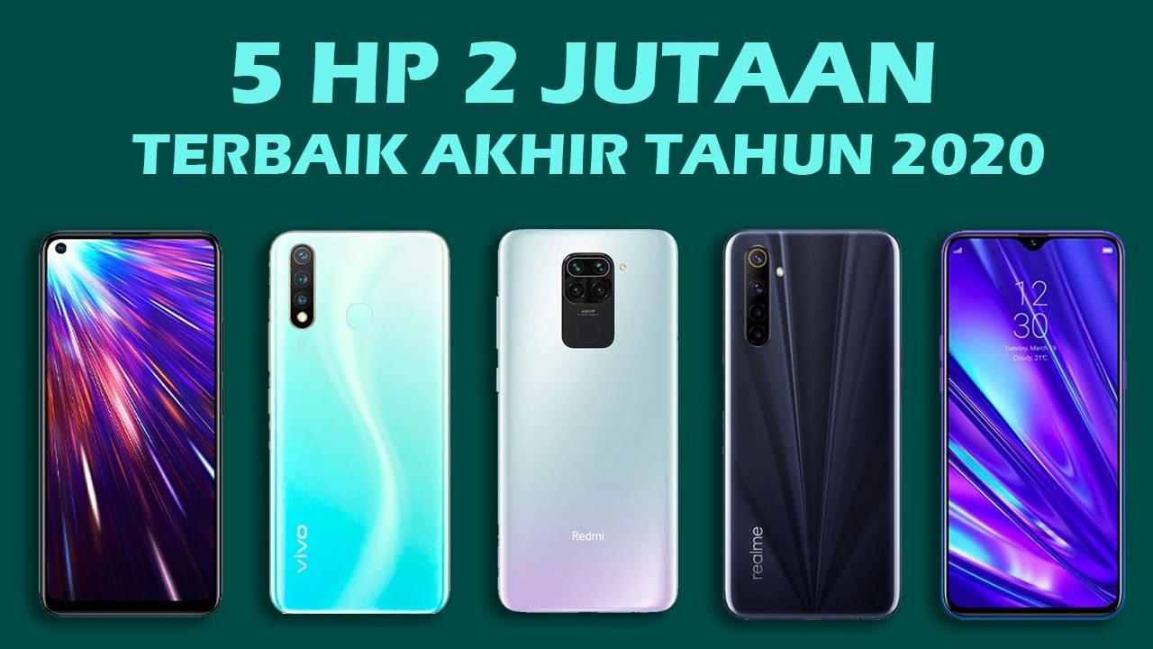 REKOMENDASI 5 HP TERBAIK HARGA 2 JUTAAN AKHIR TAHUN 2020 ...