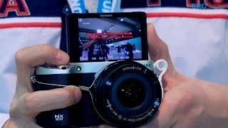 видео Samsung готовит фотокамеру NX500 под управлением Tizen