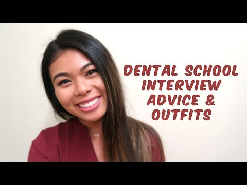 DENTAL SCHOOL INTERVIEW TIPS & OUTFITS // One-on-one, Group, & MMI // LauraSmiles