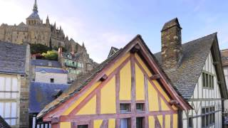 Mont Saint Michel - France - UNESCO World Heritage Site