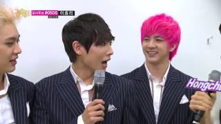 MBLAQ - Interview, 엠블랙 - 대기실 인터뷰, Music Core 20130608