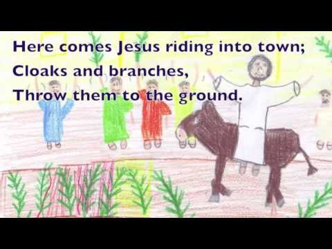 Songs for Palm Sunday, Holy Week and Easter #1 Cloaks and Branches