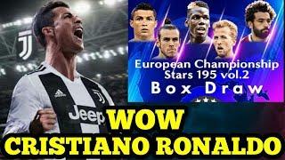 BEST TRICK    CRISTIANO RONALDO !!! EUROPEAN CHAMPIONSHIP STARS 195 BOX DRAW #Part2 ! With 21K Coins