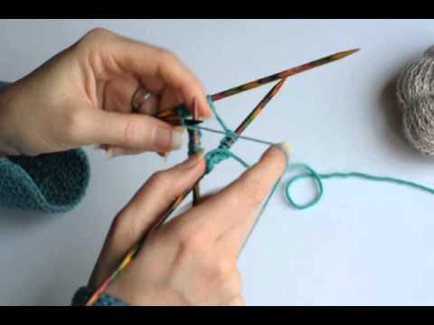 tricoter 3 aiguilles