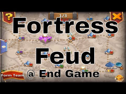 Castle Clash Fortress Feud Gameplay At End Game Guild