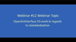 openairinterface tutorials videos, openairinterface