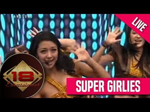 SuperGirlies - Cinta Karet Live @dahsyatmusik 22 November 2013
