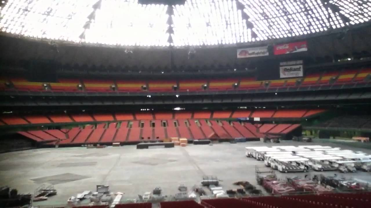 inside the relinat houston astrodome in 2011 youtube