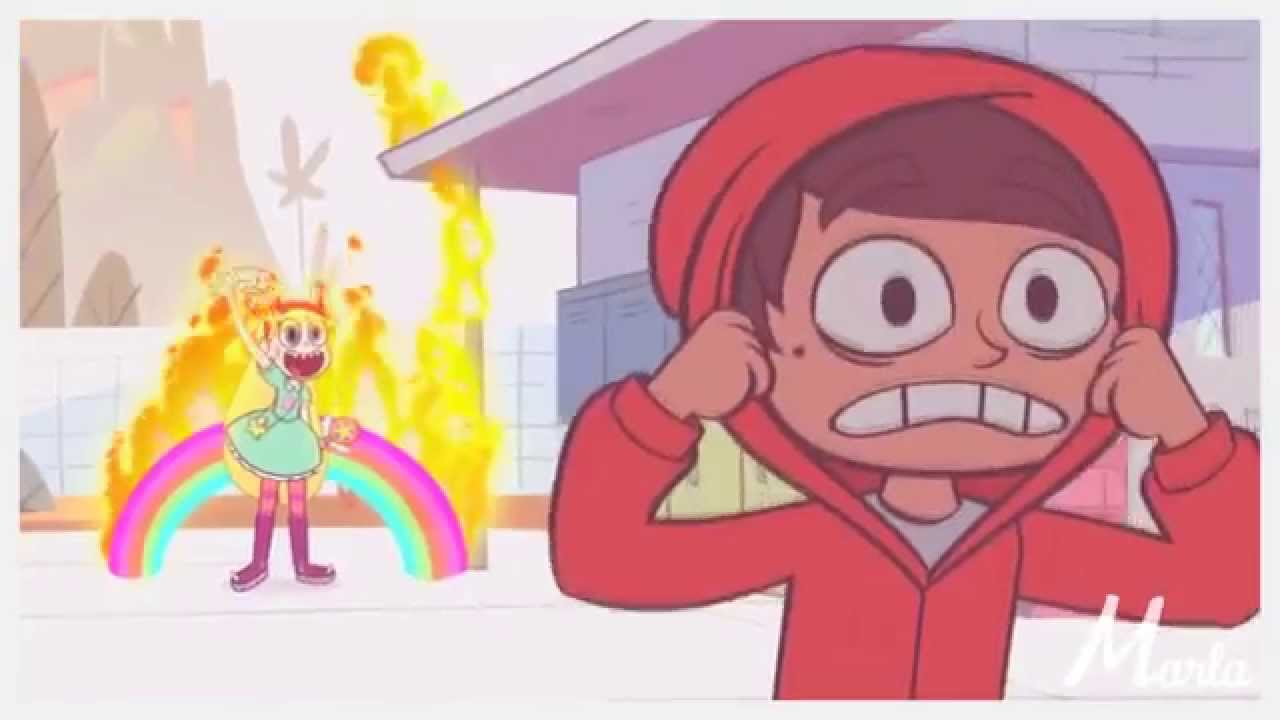 Star/Marco] ♥ \'\'Everyday I chase after her, but I can\'t catch ...