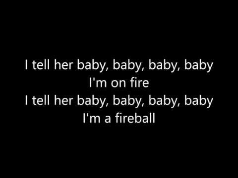 Pitbull Ft. John Ryan - Fireball (lyrics)
