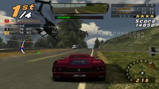 Need for Speed: Hot Pursuit 2, 8 Laps Coastal Parklands - Ferrari F50