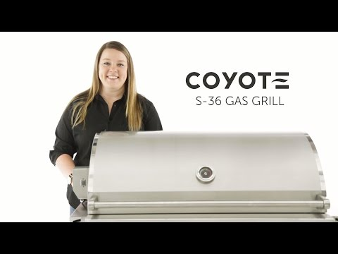 Coyote S Series Gas Grill Overview   BBQGuys.com