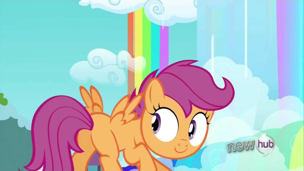 Rainbow Dash And Scootaloo Flying Together Youtube Make your own images with our meme generator or animated gif maker. rainbow dash and scootaloo flying together