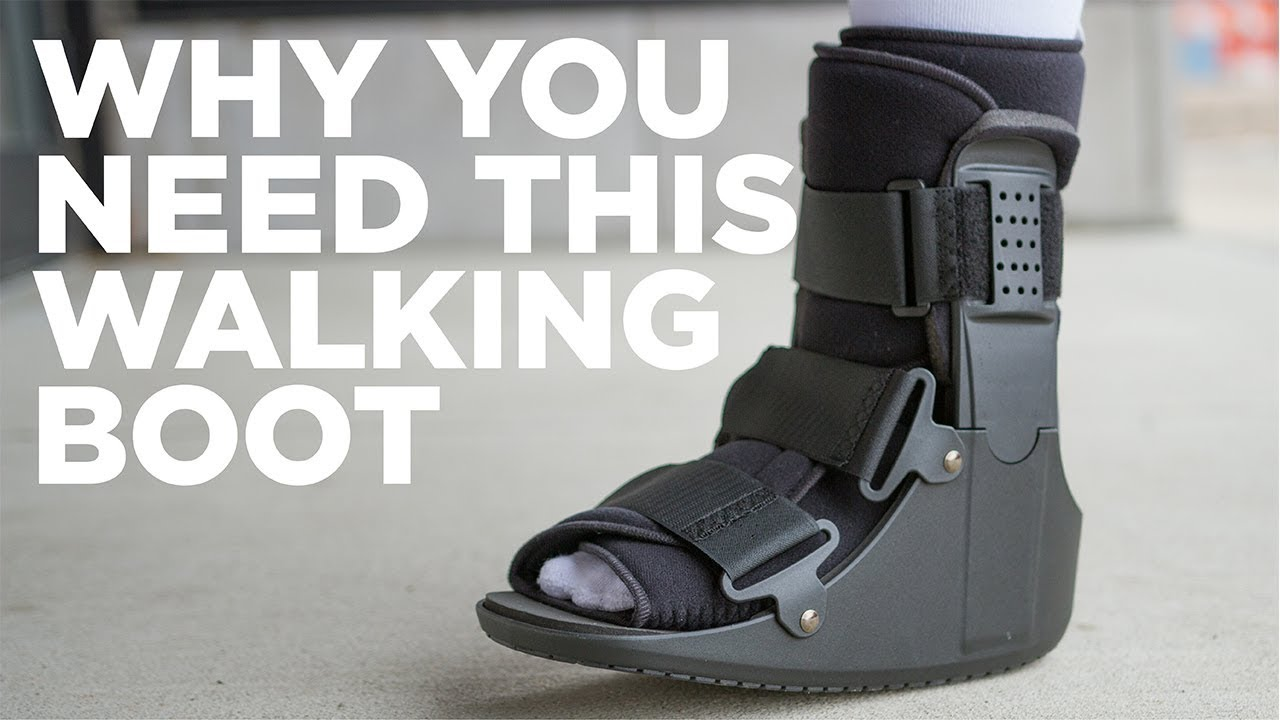 BraceAbility's Walking Boot for a Sprained and Broken Foot, Toe or Ankle