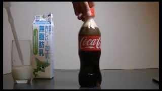 Beginilah kalau Coca cola di Campur Susu