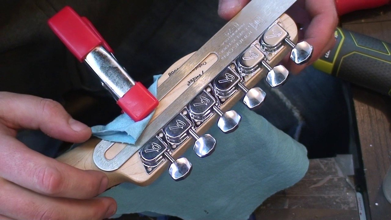 Fender Squier Standard Strat tele un sintonizzatore tuning pegs STRATOCASTER TELECASTER