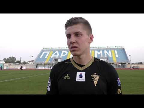 Maciej Ambrosiewicz o meczu sparingowym ze Spartakiem Moskwa
