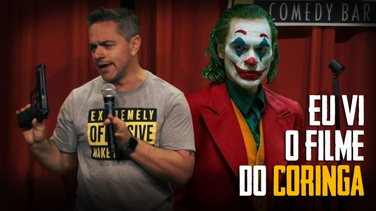 EU VI O FILME DO CORINGA - Rogério Vilela - Stand up Comedy