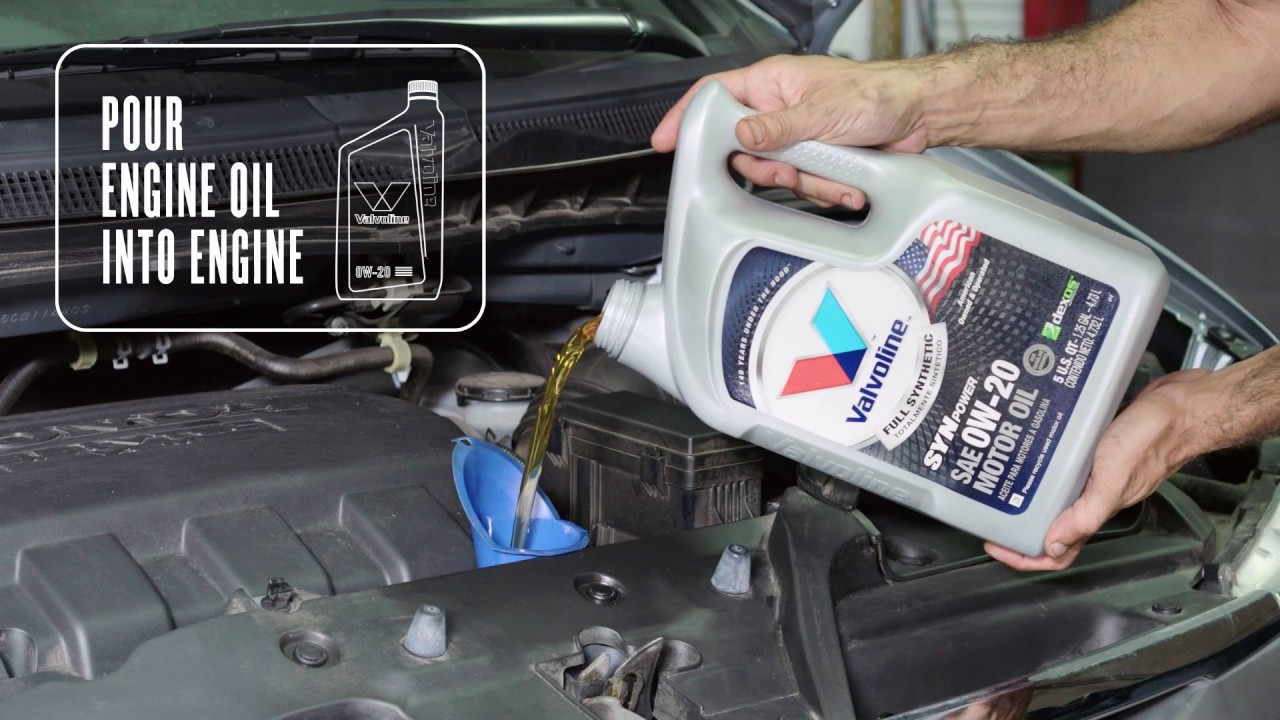How To Change The Oil In A Honda Odyssey Youtube