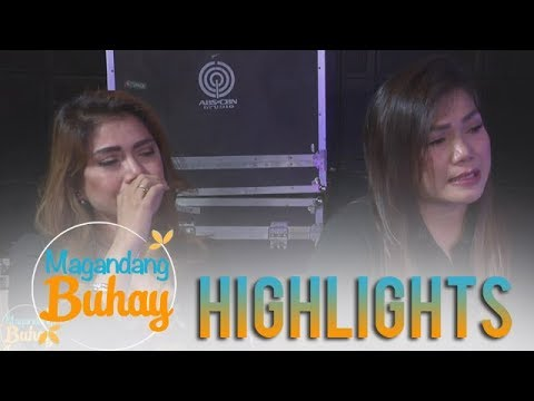 Magandang Buhay: Aegis gets emotional while giving messages to their mom