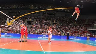The Most Powerful Volleyball Serves (HD)