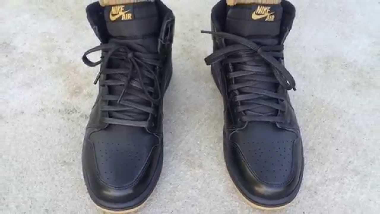 Outlet Us Online Nike Air Jordan 1 Retro OG Black Gum Nike