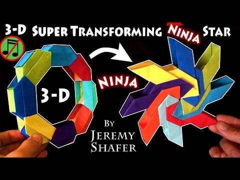 3D Super Transforming Ninja Star (no music)