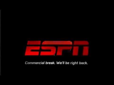 ESPN commercial break