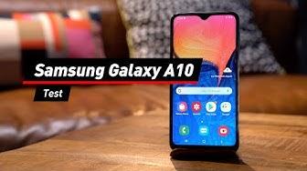 Samsung Galaxy A10: Test des Einsteiger-Handys | deutsch