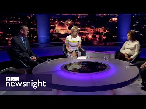 Trump's Jerusalem announcement: Interview with Mark Regev and Ghada Karmi – BBC Newsnight