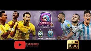 | Argentina et Brazil  | البرازيل و الارجنتين HD المباراة الكاملة