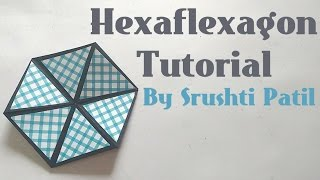 Hexaflexagon/Colour changing Hexagon Tutorial by Srushti Patil