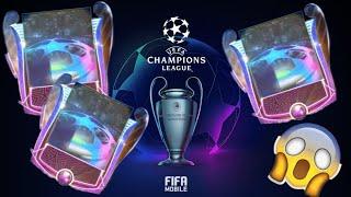 FIFA MOBILE 19 - OTWIERAM 3x PACZKI Z GWARANTOWANYMI MASTERAMI 92+ UCL :)