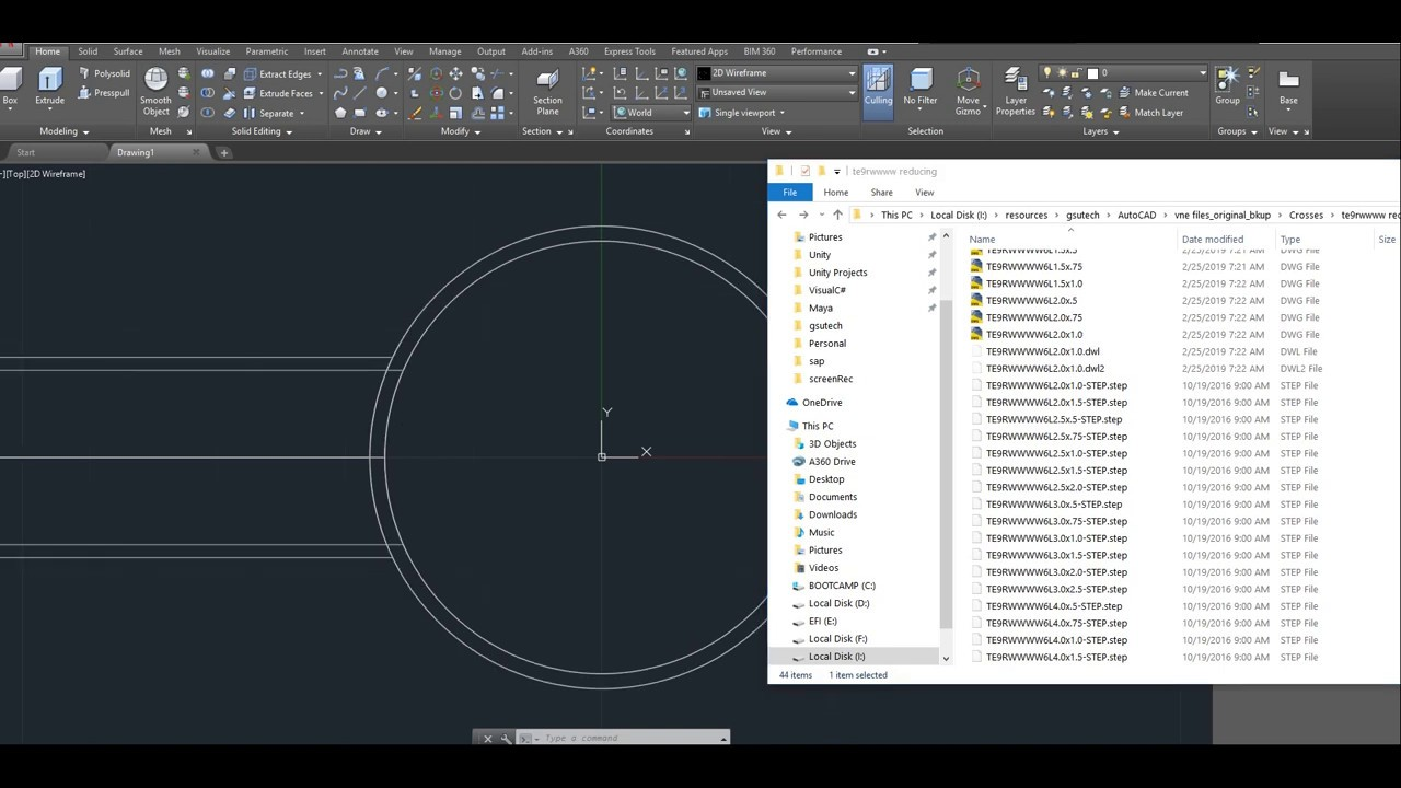 import STEP file - Bulk Import CAD format files recursively to AutoCAD -  Visual Lisp