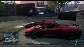 Need For Speed Most Wanted: Lamborhini Aventador J Location