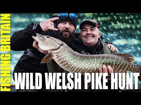 Big Welsh Pike in Trawsfynydd - Fishing Britain episode 11