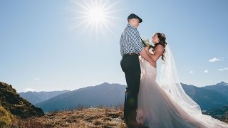 Surprise Elopement with family reactions Wanaka, New Zealand