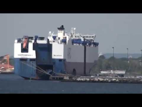 The Independence II - Ro Ro vessel, Port of NY/NJ - part a