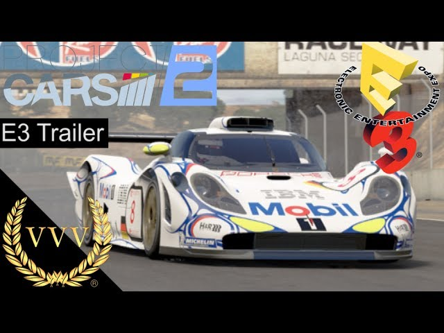 Project CARS 2 E3 Sizzle Trailer