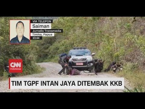 Tim TGPF Intan Jaya Ditembak KKB