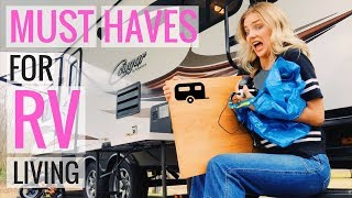 THINGS TO BUY for RV Family Living  - BECCA'S LIST