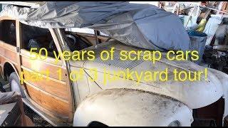 Junkyard Diamonds Part 1, Rare Woody Wagons Hot Rods and More!