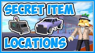 Secret Item Locations | The Neighborhood of Robloxia - Roblox