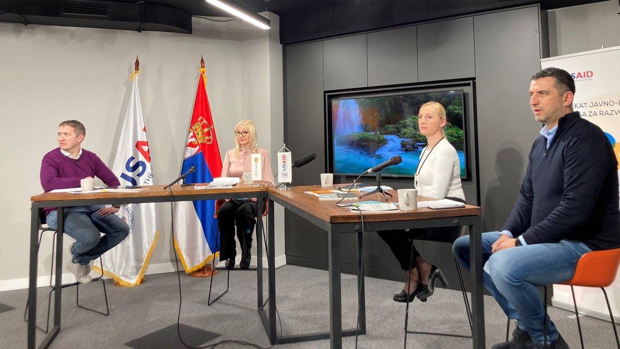 Održan podkast o otpadnim vodama – Ko brine o vodama u Srbiji?