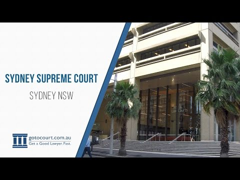 Supreme Court Of NSW, Law Courts Building, Queens Square, Sydney | Go To Court Lawyers | Sydney, NSW