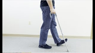 How to Walk with a Cane (Sizing, Training, Use, and Stairs)