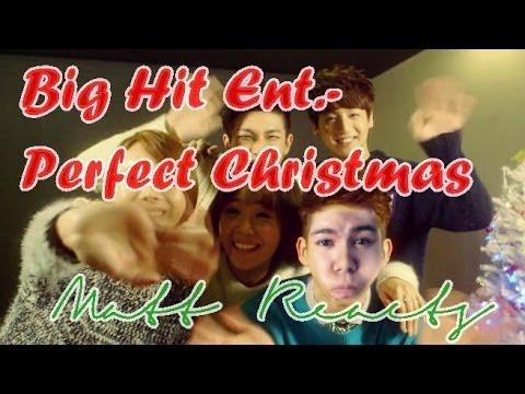 Big Hit Ent.- Perfect Christmas (조권, 임정희, 주희, 랩몬스터, 정국) MV Reaction || Matt Reacts
