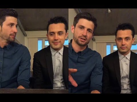 James Lafferty & Stephen Colletti from One Tree Hill  Instagram Live Stream  26 June, 2018