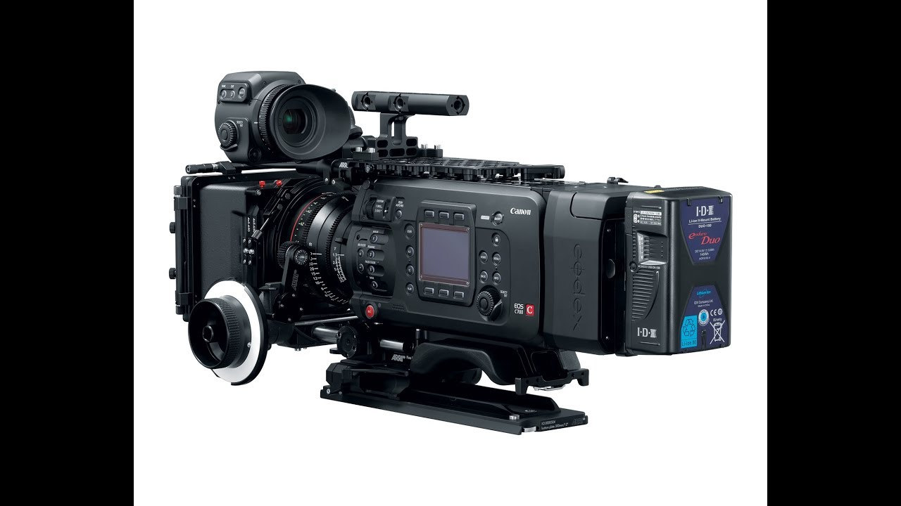 First look at Canon\'s new C700 FF Full-Frame Cinema Camera - YouTube
