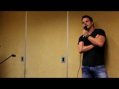 Rob Kazinsky at Shatterdome Atlanta 2014 part 1